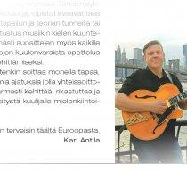 Kari Antila /Muusikkona maailmalla Riffi 5/2013