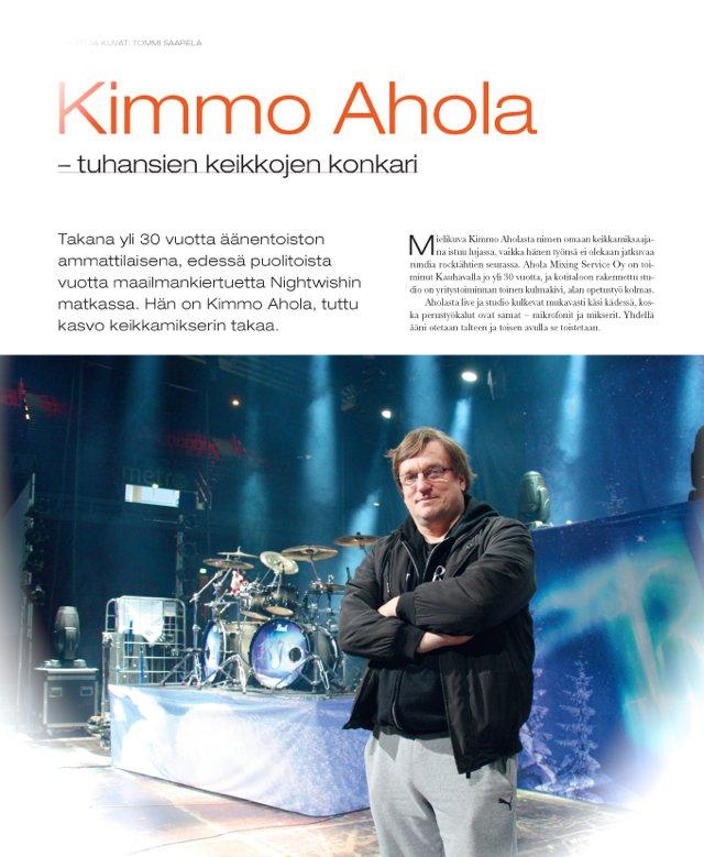 Kimmo Ahola Riffi, haastattelu