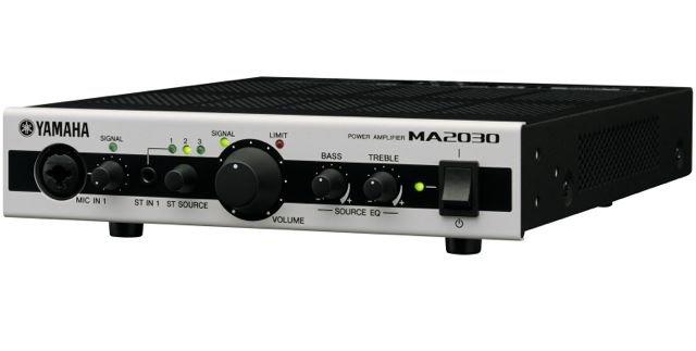 Yamaha_MA2030_mikserivahvistin_Riffi_testi