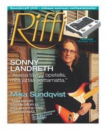 Riffi 4/2015 Kansi - Sonny Landreth