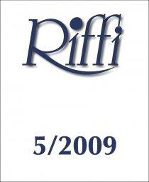 Riffi 5/2009 kansi