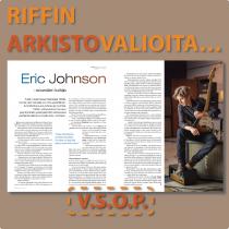 Eric Johnson Riffin haastattelussa