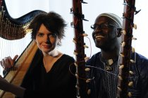 Catrin Finch & Seckou Keita photo: Josh Pulman