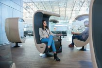 Silence Sound Center -tuolit Frankfurti lentokentällä