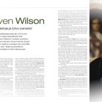 Steven Wilson Riffin haastattelussa