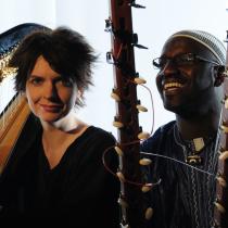 Catrin Finch & Seckou Keita photo: Josh Pulman