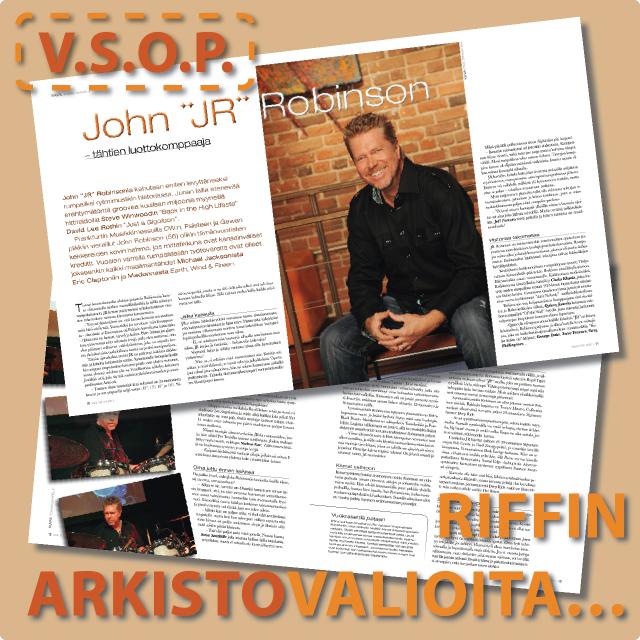 "John ""JR"" Robinson @Riffi"