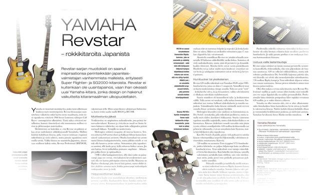 Yamaha RevStar -kitarat Riffin testissä