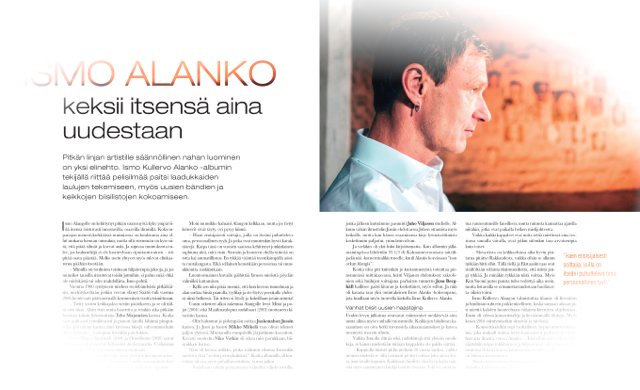 Ismo Alanko haastattelu