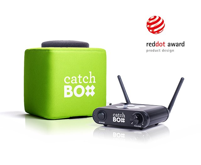 Catchbox Red Dot