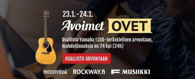 F-Musiikki ja Rockway avoimet ovet 2015