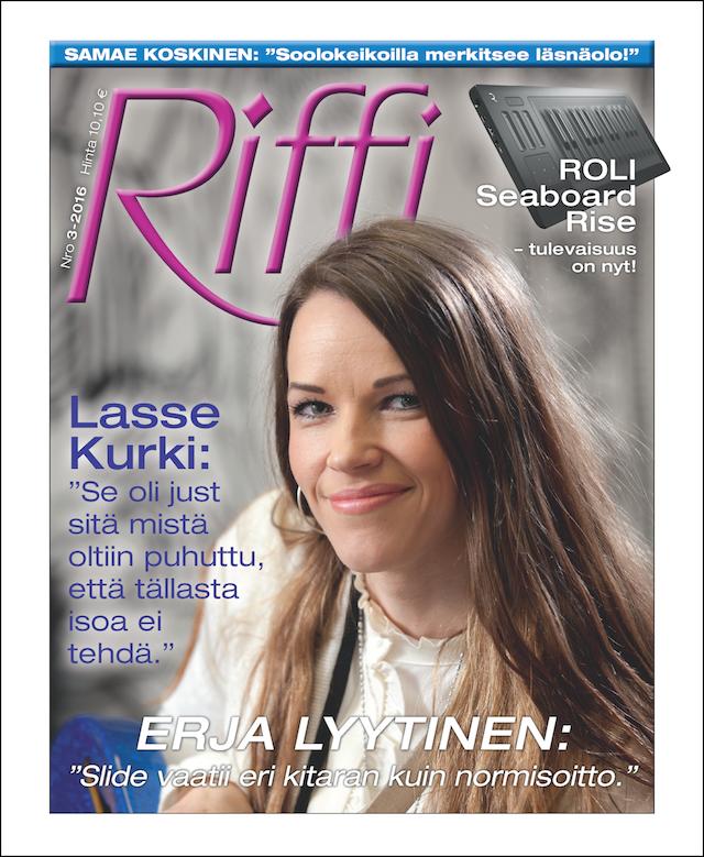 Riffi 3/2016, kesäkuu 2016