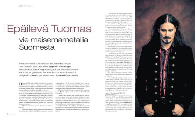 Tuomas Holopainen Nightwish Riffi