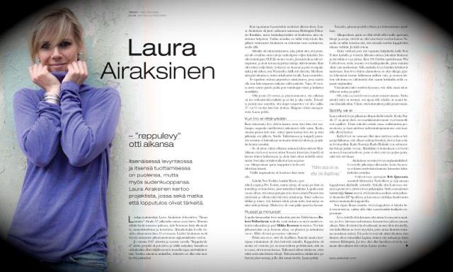 Laura Airaksinen Riffi ©Anton Sucksdorff
