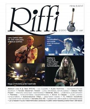 Riffi 2/2010 kansi