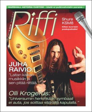 Riffi 2/2016 Juha Raivio ©Kai Sinervo / Riffi