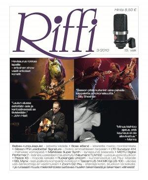 Riffi 3/2010 kansi
